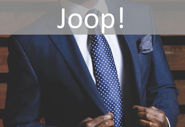 Joop Herren-Manschettenkn/Ã/¶pfe Sharp Epoxy schwarz Edelstahl JPCF10137A000